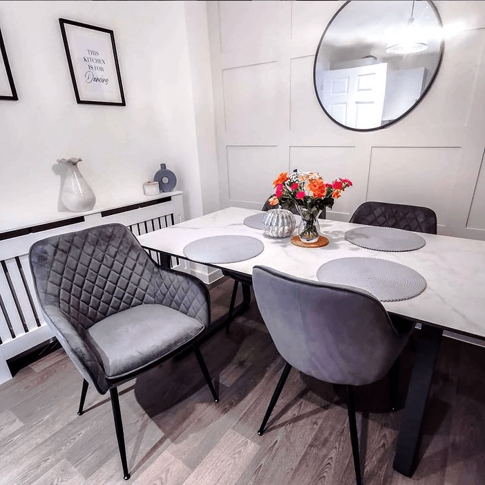 Best Grey Dining Chairs, Gray Dining Room Chairs